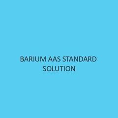 Barium AAS Standard Solution Liquid