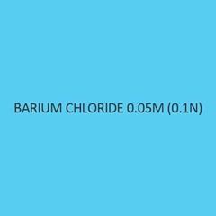 Barium Chloride 0.05M