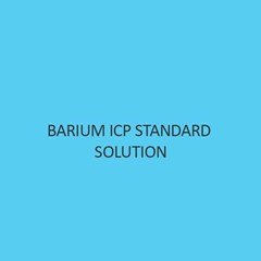 Barium ICP Standard Solution 1000Mg L In Nitric Acid