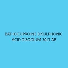 Bathocuproine Disulphonic Acid Disodium Salt AR