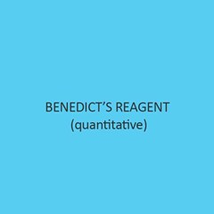 Benedicts Reagent Qualitative