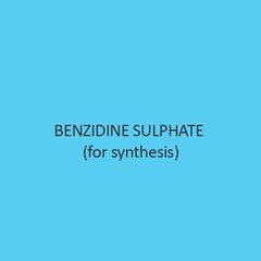Benzidine Sulphate For Synthesis