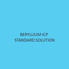Beryllium ICP Standard Solution 1000Mg L In Nitric Acid