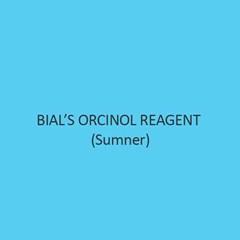 Bials Orcinol Reagent Sumner
