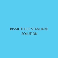 Bismuth ICP Standard Solution 1000Mg L In Nitric Acid