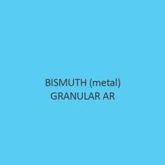 Bismuth metal Granular AR