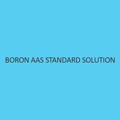 Boron AAS Standard Solution Liquid