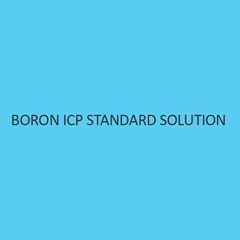 Boron ICP Standard Solution 1000Mg L In Waterliquid