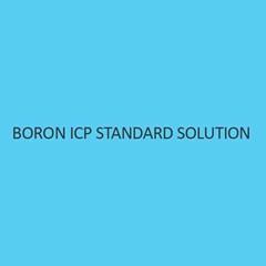 Boron ICP Standard Solution 1000Mg L In Waterliquid