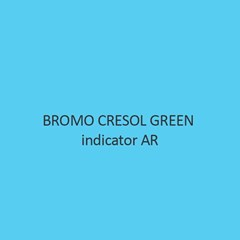 Bromo Cresol Green Indicator AR