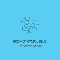 Bromothymol Blue Indicator Paper