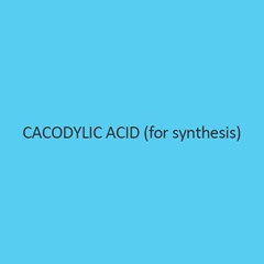 Cacodylic Acid For Synthesis