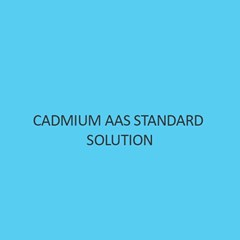 Cadmium AAS Standard Solution Liquid