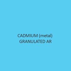 Cadmium Metal Granulated AR
