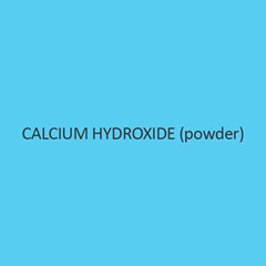 Calcium Hydroxide Powder Practical