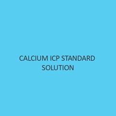 Calcium ICP Standard Solution 1000Mg Nitric Acid