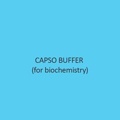 Capso Buffer For Biochemistry