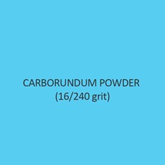 Carborundum Powder 16 Per 240 Grit