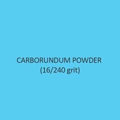 Carborundum Powder 16 Per 240 Grit