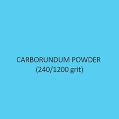 Carborundum Powder 240 Per 1200 Grit