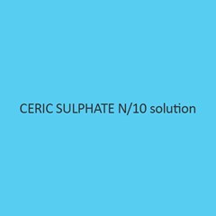 Ceric Sulphate N Per 10 Solution 0.1N Volumetric Solution
