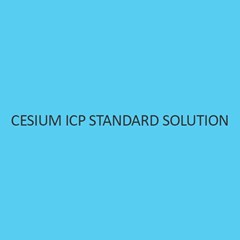 Cesium ICP Standard Solution 1000Mg L In Nitric Acid