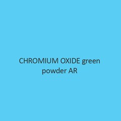 Chromium Oxide Green Powder AR