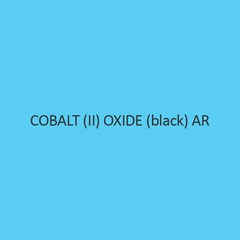 Cobalt (II) Oxide Black AR