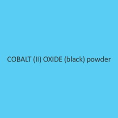 Cobalt II Oxide Black Powder