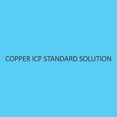 Copper ICP Standard Solution 1000Mg L In Nitric Acid