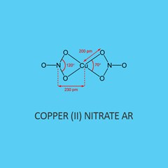 Copper (II) Nitrate AR (Trihydrate)