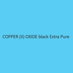 Copper (II) Oxide Black Extra