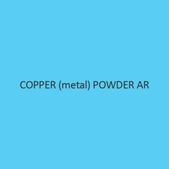Copper Metal  Powder AR