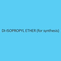 Di Isopropyl Ether (For Synthesis) (Iso Propyl Ether)