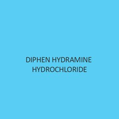 Diphen Hydramine Hydrochloride Extra Pure (For Lab Use)