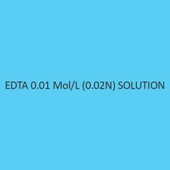 Edta 0.01 Mol per L (0.02N)