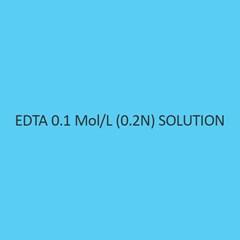 Edta 0.1 Mol per L (0.2N)