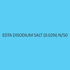 Edta Disodium Salt (0.02N) N per 50