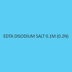 Edta Disodium Salt 0.01M (0.02N)