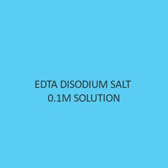 Edta Disodium Salt 0.1M (0.2N)