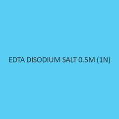 Edta Disodium Salt 0.5M(1N)
