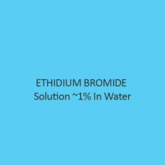 Ethidium Bromide Solution 1 Percent In Water