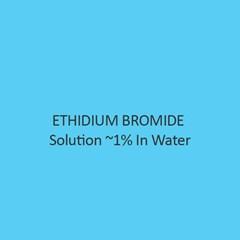 Ethidium Bromide Solution 1 Percent In Water