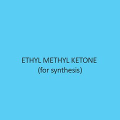 Ethyl Methyl Ketone (For Synthesis)