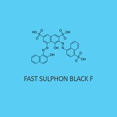 Fast Sulphon Black F