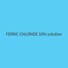 Ferric Chloride 10 Percent Solution