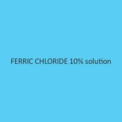 Ferric Chloride 10 Percent Solution