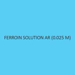 Ferroin Solution AR (0.025 M) (Redox Indicator)