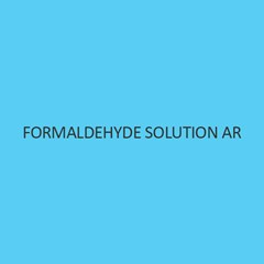 Formaldehyde Solution AR