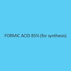 Formic Acid 85 Percent (For Synthesis)